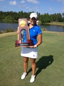 Campeona NCAA Golf