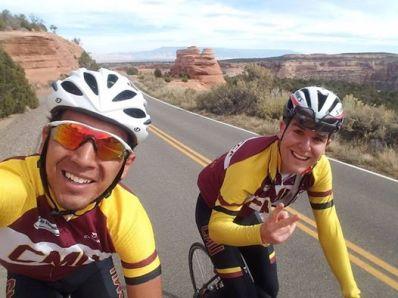 Mauro Rato, ciclista asturiano que ha conseguido una beca de ciclismo en Estados Unidos